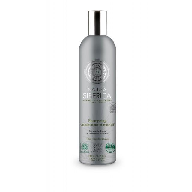 Shampooing Volumateur & Nutritif Tous Types De Cheveux Natura Siberica