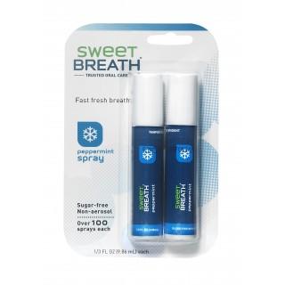 2 Sprays Menthe Poivrée Sweet Breath
