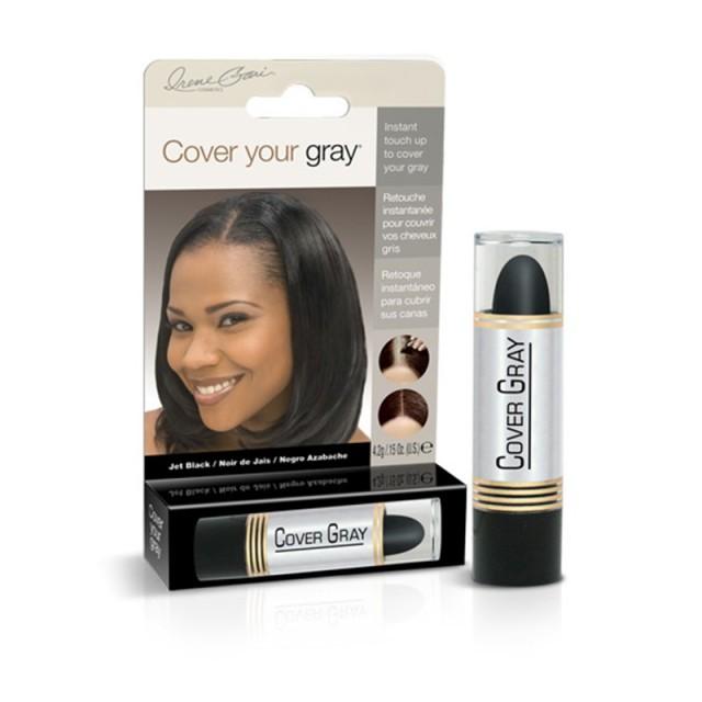 Bâton Camoufleur Pour Cheveux Gris - Noir Intense cover your gray