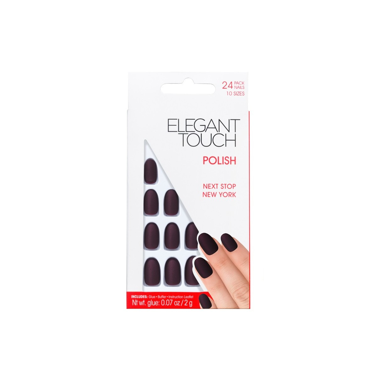 Faux-Ongles Polished - Next Stop New York Elegant Touch 1