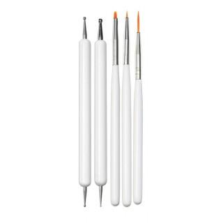 Pinceaux et outils Nail Art Stylist - Brush Set Elegant Touch 1