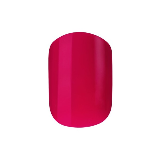Faux Ongles Pré Encollés Express Polished - Bright Pink Elegant Touch 2