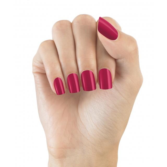 Faux Ongles Pré Encollés Express Polished - Bright Pink Elegant Touch 3