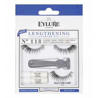 Kit de pose Starter Kit Lengthening N118 Eylure packaging