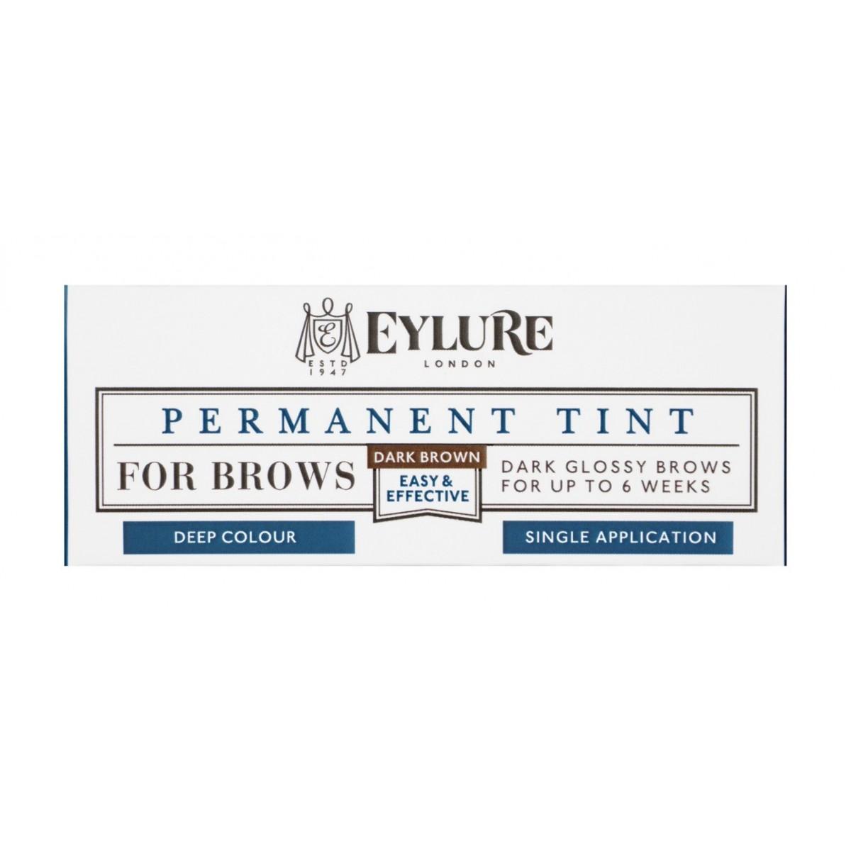 Teinture Permanente Brow Tint - 10 Dark Brown Eylure packaging
