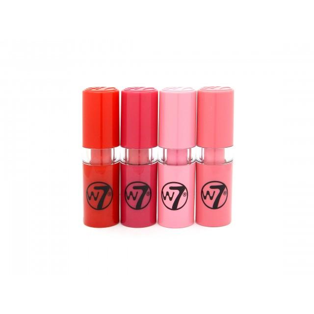 Coffret de 4 Mini Rouges à Lèvres Fabulicious W7 1