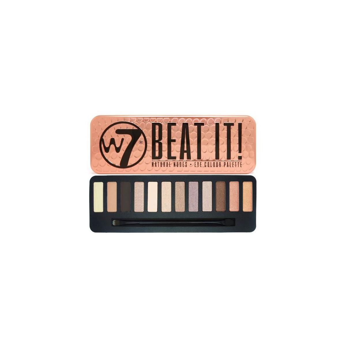 """Palette 12 Ombres à Paupieres """"Beat It"""" W7 1"""
