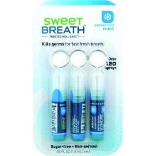 3 Portes Clés Spray Menthe Poivrée Sweet Breath