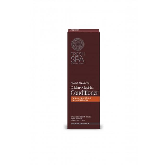 Après-shampoing nutritif à l'Argousier doré Fresh SPA de Natura Siberica packaging