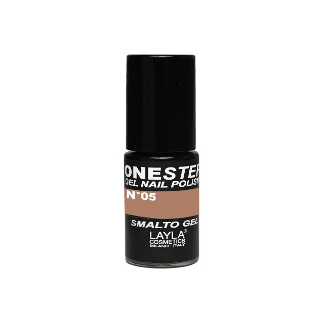 Vernis à ongles African Sand Beige UV Gel One-step Layla 1