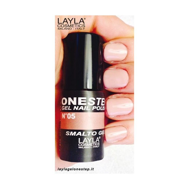 Vernis à ongles African Sand Beige UV Gel One-step Layla 2