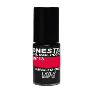 Vernis à ongles Black Cherry Cerise UV Gel One-step Layla 1