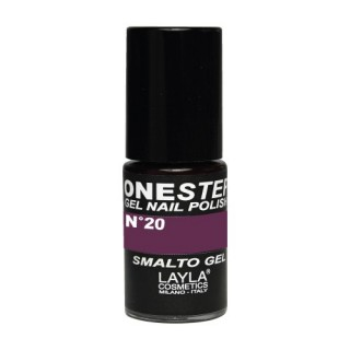 Vernis à ongles Arabesque Prune UV Gel One-step Layla 2