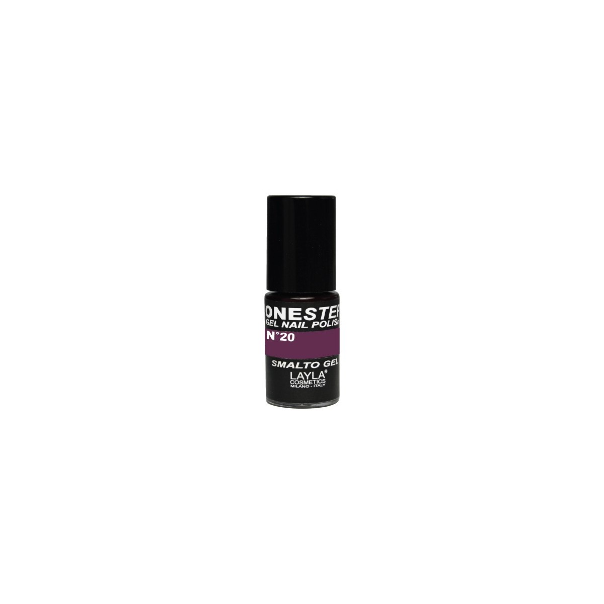 Vernis à ongles Arabesque Prune UV Gel One-step Layla 2