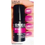 Vernis à ongles Lilly Bit Violet clair UV Gel One-step Layla 2