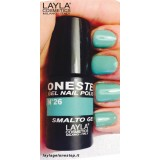 Vernis à ongles Tea Time Turquoise UV Gel One-step Layla 2