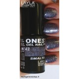 Vernis à ongles Moon stars Gris UV Gel One-step Layla 2