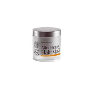 Masque capillaire nutritif au miel de l'Altaï Fresh SPA de Natura siberica