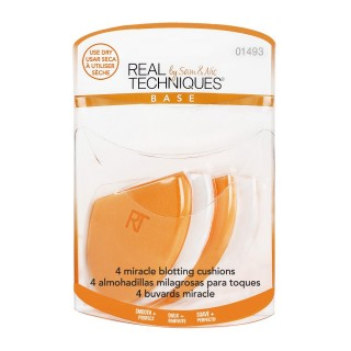 PACK 4 Eponges Absorbantes Miracle - Real techniques