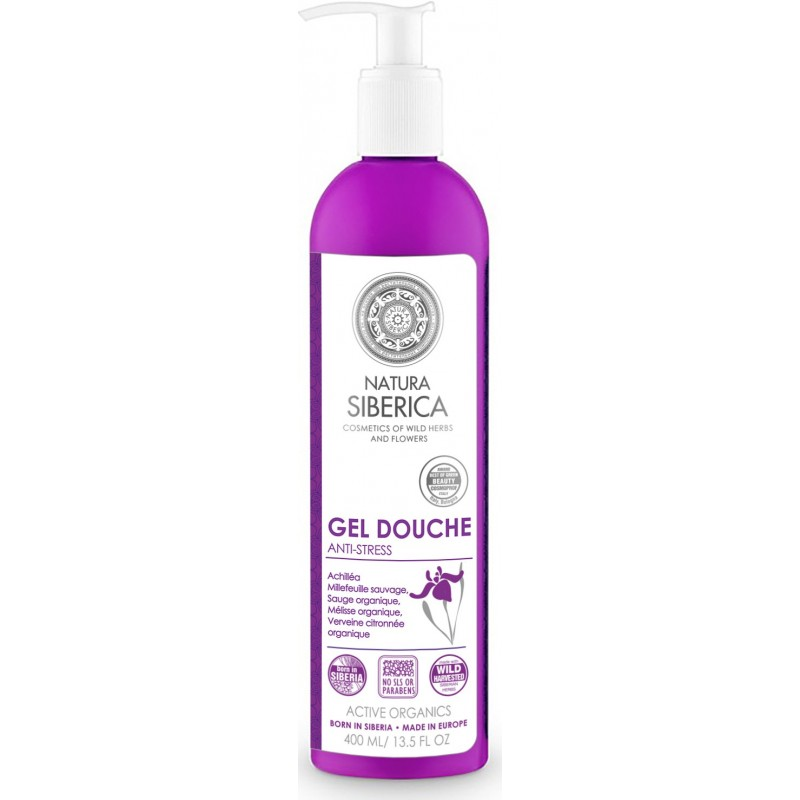 Gel Douche Anti-Stress Natura Siberica