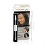 Applicateur 2 En 1 Camoufleur Pour Cheveux Gris - Noir Intense