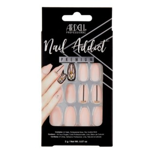Faux ongles Blush Geometric Crystals - Ardell