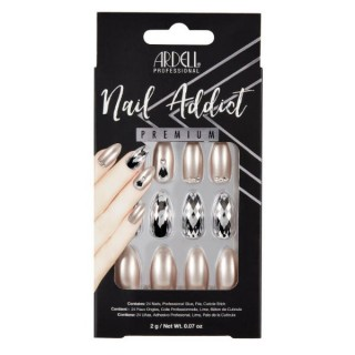 Faux ongles Champagne Ice -...