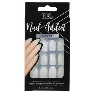 Faux ongles Natural Ovale -...