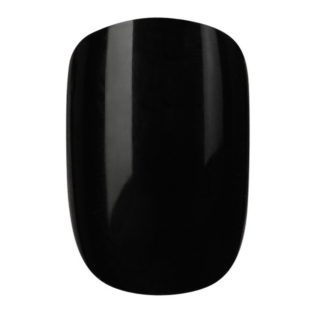 Faux-Ongles Polished - Jet Black Elegant Touch 2