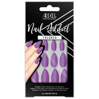 Faux-ongles Purple Passion...
