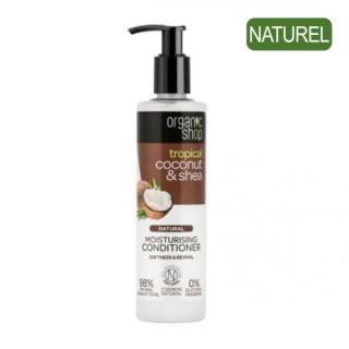 Après-Shampoing Hydratant Noix de Coco et Karité - Organic Shop