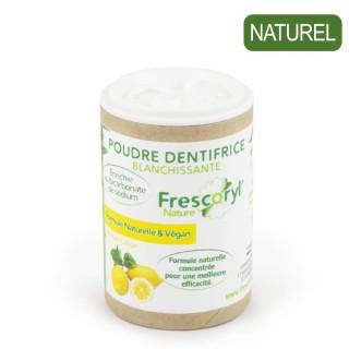 Poudre Dentifrice Citron -...