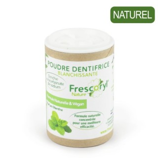 Poudre Dentifrice Menthe...