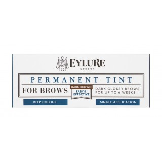 Teinture Permanente Brow Tint - 10 Dark Brown Eylure packaging