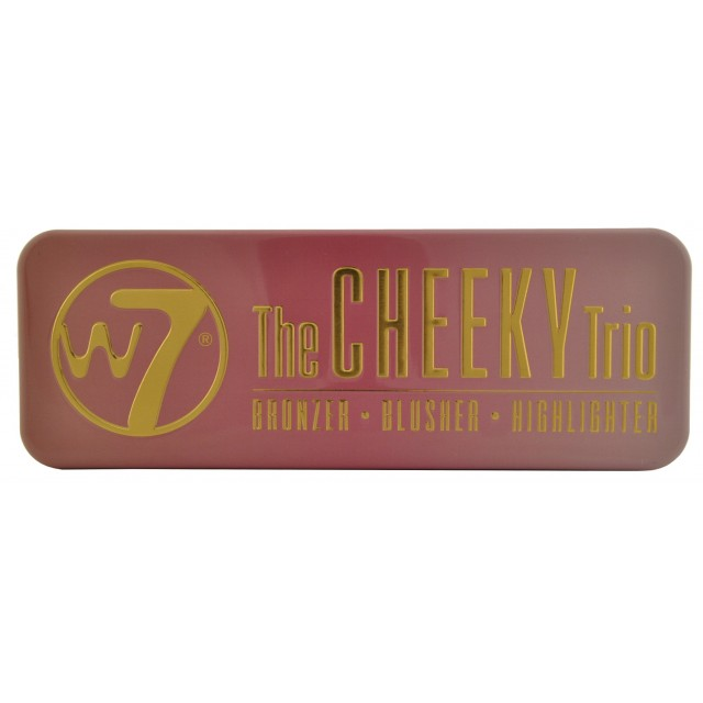Palette Cheeky Trio W7 closed