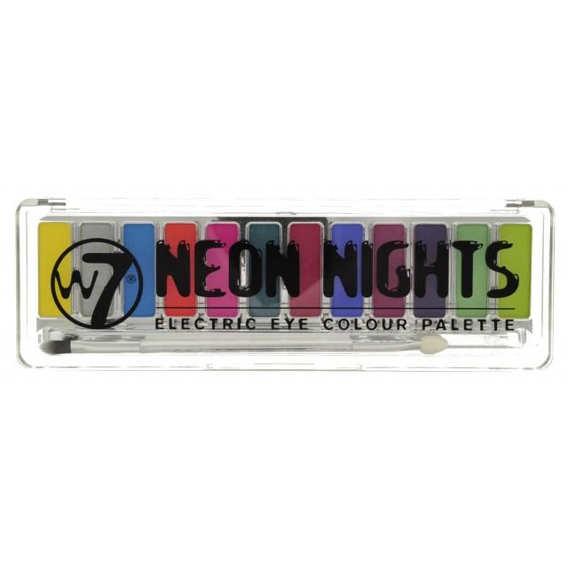 """Palette 12 Ombres à Paupières """"Neon Nights"""" W7 closed"""