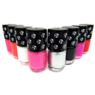 """Seau de 6 vernis à ongles """"Mini Paint Shop"""" W7 1"""