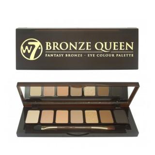 """Palette De 7 Ombres à Paupieres """"Bronze Queen"""" W7 1"""