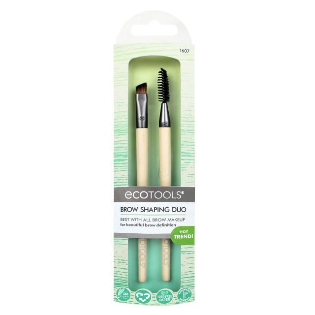 Set 2 Pinceaux Sourcils Ecotools packaging
