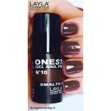 Vernis à ongles red in brown Brun UV Gel One-step Layla 2