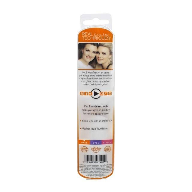 Pinceau Fond de Teint Real Techniques packaging back