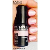 Vernis à ongles Ballerina Rose clair UV Gel One-step Layla 2