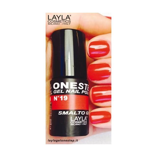 Vernis à ongles Metropolitan Rouge Clair UV Gel One-step Layla 2