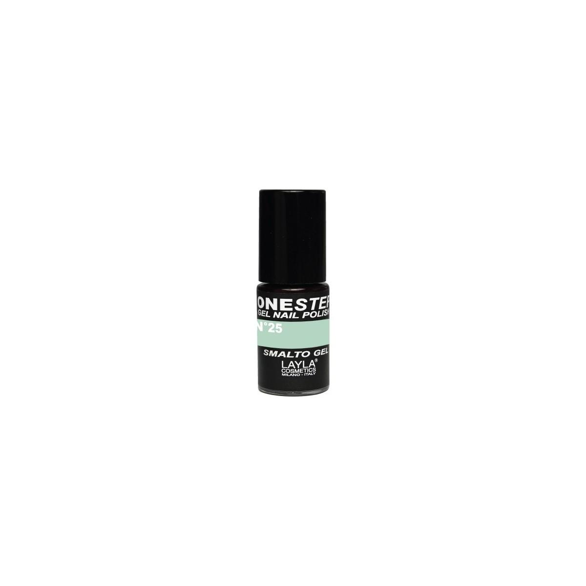 Vernis à ongles Lime Love Vert clair UV Gel One-step Layla 1
