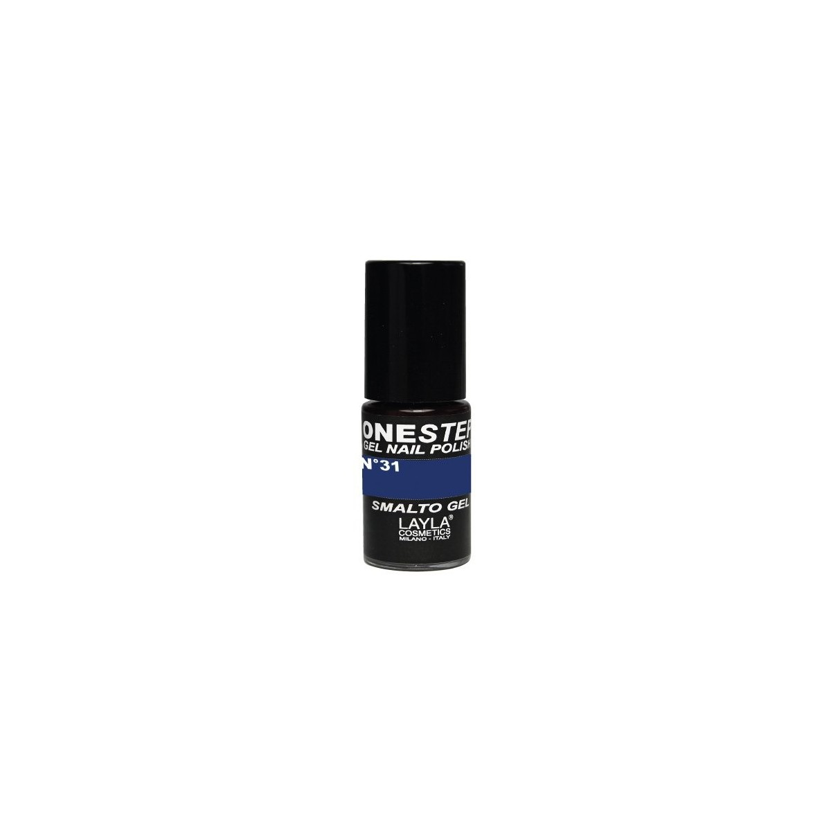 Vernis à ongles Bleu nuit Blues UV Gel One-step Layla 1