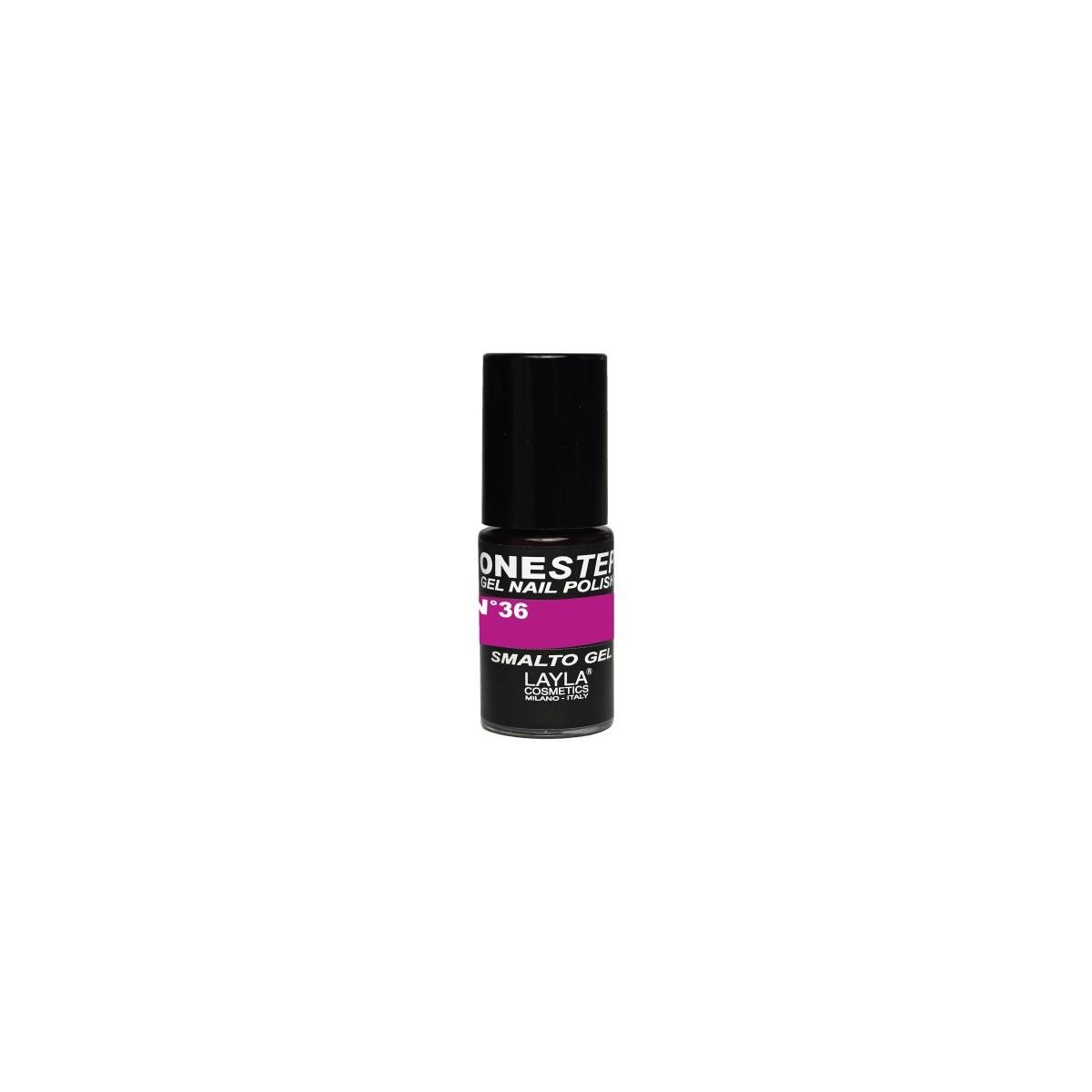 Vernis à ongles Tati Love Violet Fluo UV Gel One-step Layla