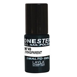 Vernis à ongles Transparent UV Gel One-step Layla 1