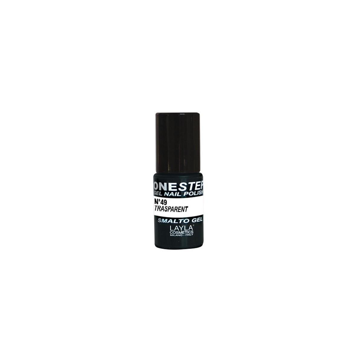 Vernis à ongles Transparent UV Gel One-step Layla 1