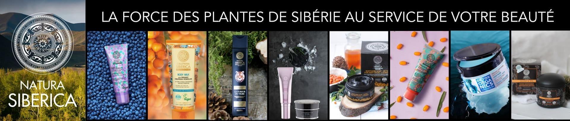 France Maia - NATURA SIBERICA soins visage, corps et cheveux